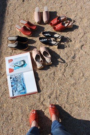 Beklina Picasso Platforms HEEL - Clay