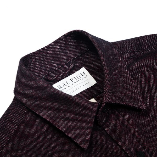 Raleigh Denim Workshop Classic Button Up—Multicolor Twill