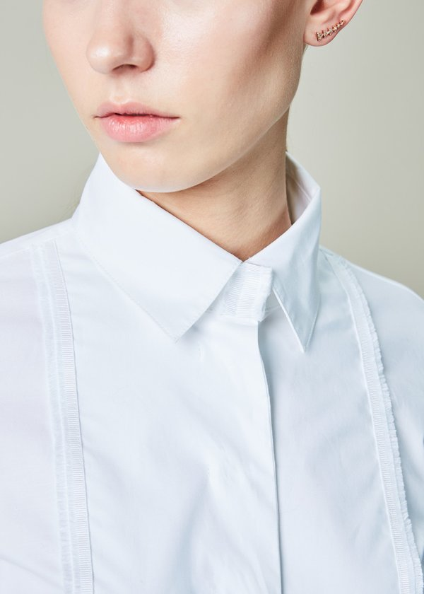 Natalija Jansone Turmalin Fly Front Shirt