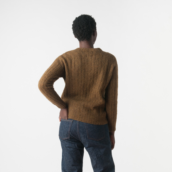 Howlin' Astro Girl Sweater in Old Olive