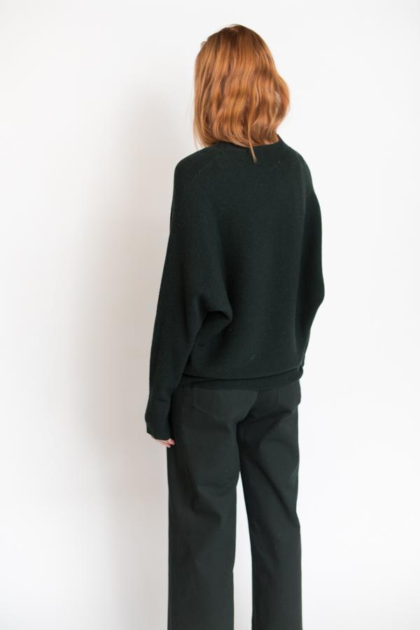 Just Female Home Knit - Woods Green