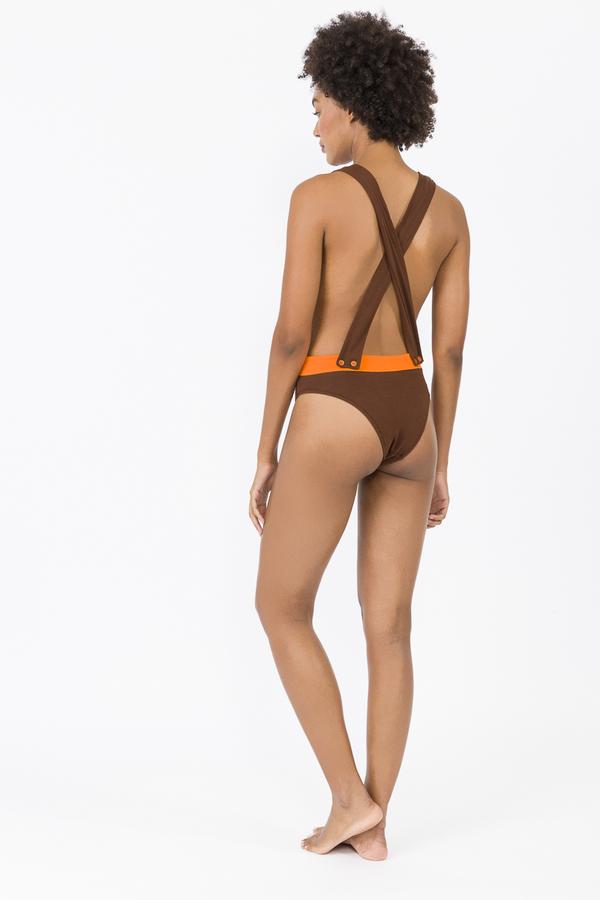 LUZ Collection Cesar - Chocolate/Orange