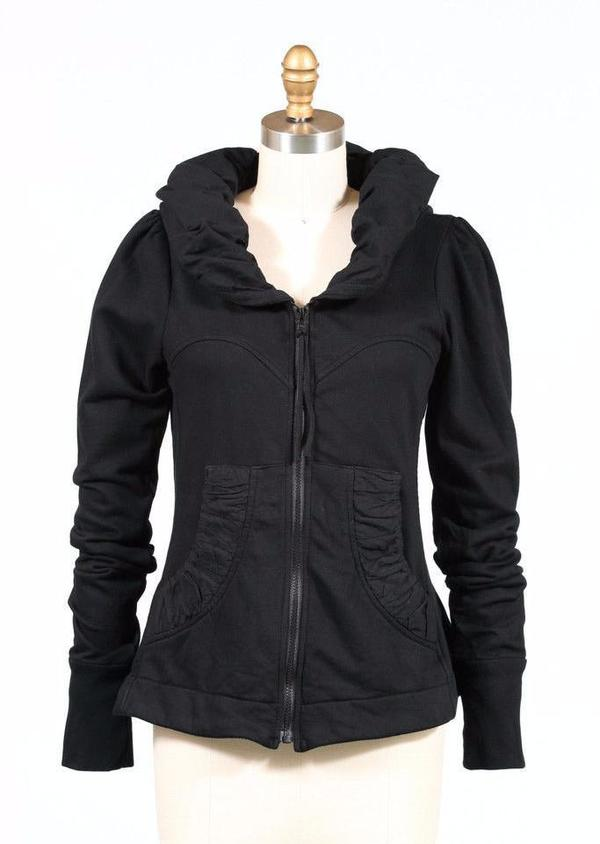 Prairie underground cloak hoodie