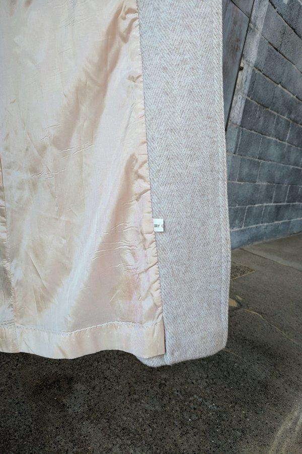 Moth Oddities Vintage 1990's Cream Long Jacket
