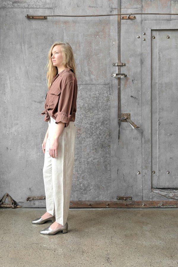 Moth Oddities Vintage 1990's Tan Linen Pants