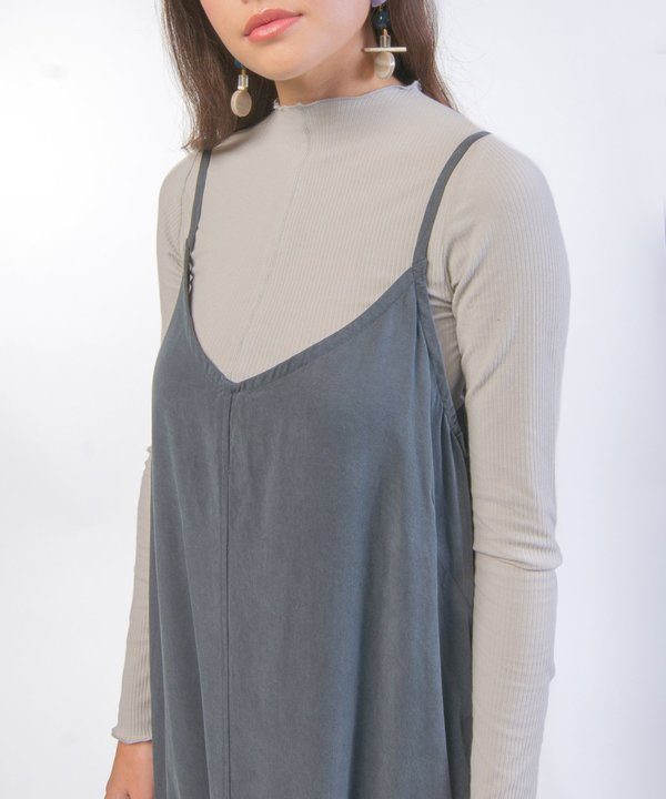 Hai Charcoal Slip Dress