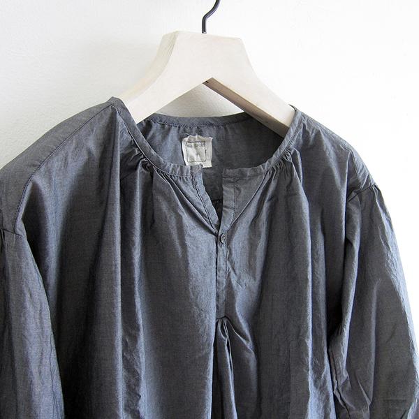 P.S. Shirt Beach Shirt - Black Chambray