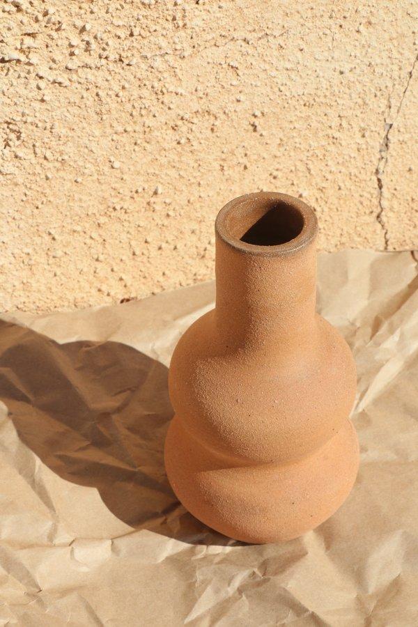 Rachel Saunders Red Sand Vase