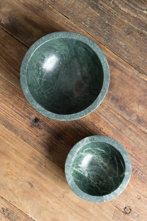 Hawkins New York Mara Marble Bowl In Green