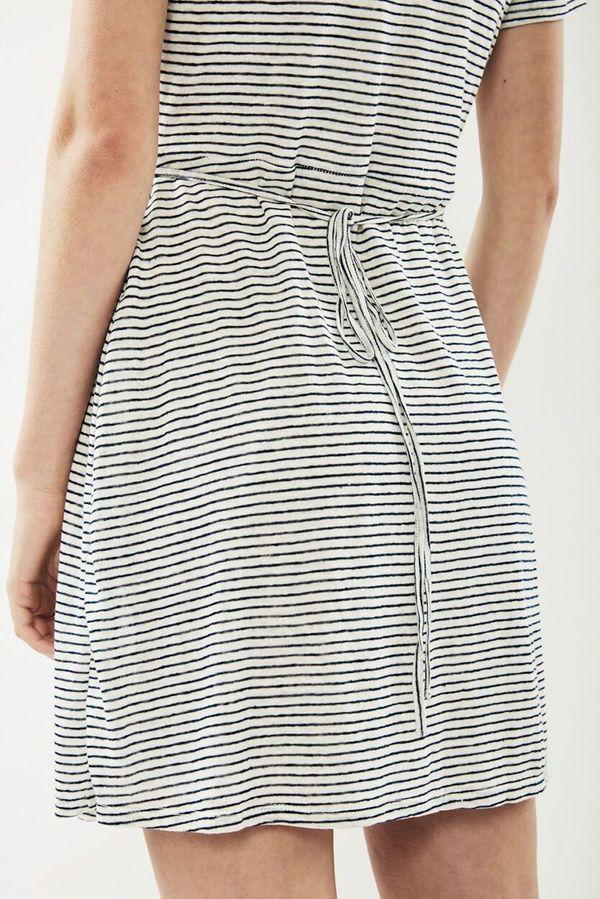 Third Form Horizon Mini Wrap Dress - Stripe