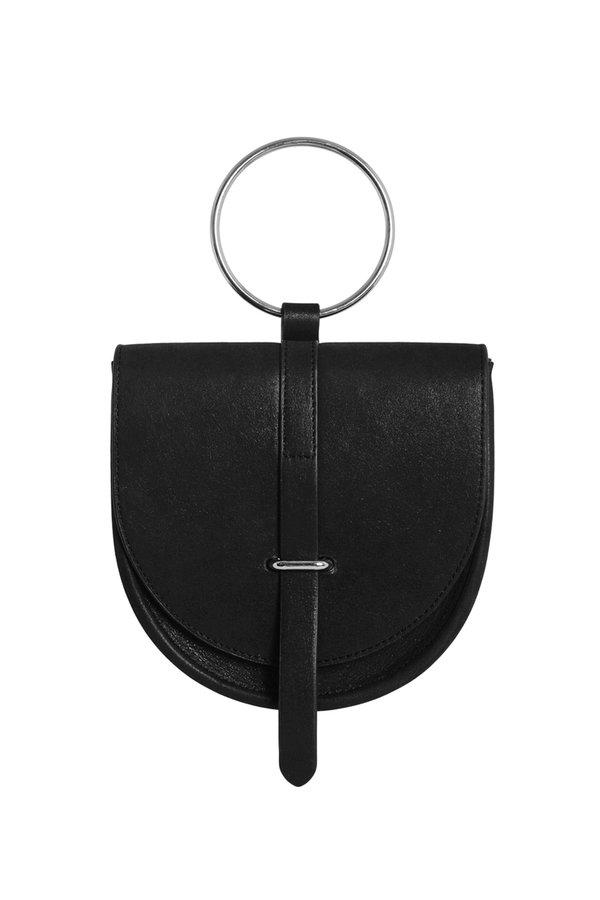 Iridescence O-Ring bag -  Black