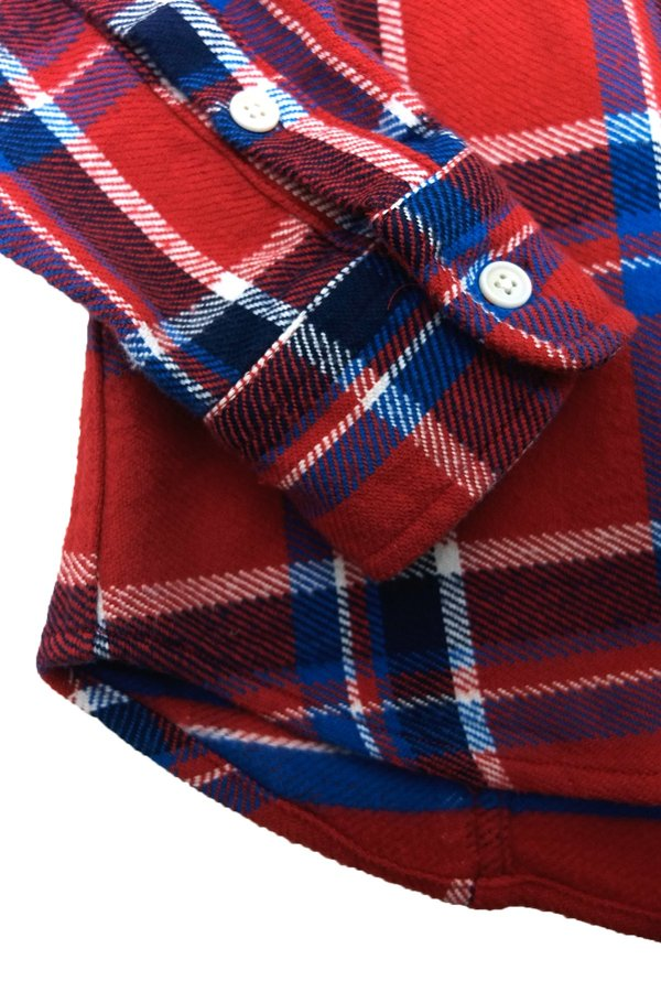 Corridor Blanket Plaid Shirt - Red