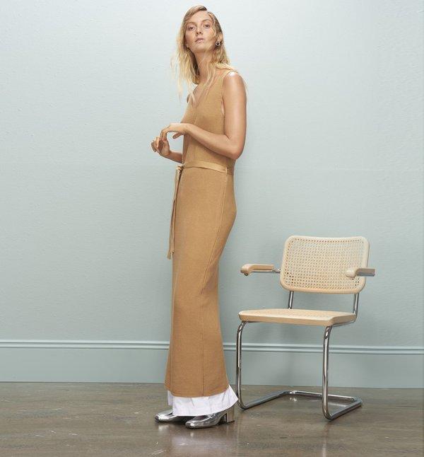 Kowtow Gala Dress - Camel