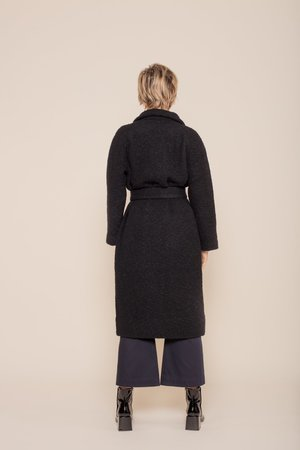 Ganni Fenn Long Wrap Coat