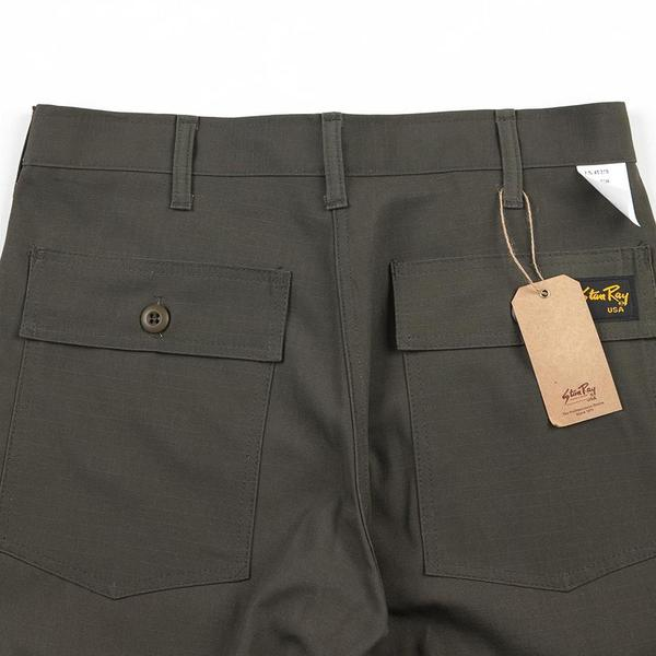 Stan Ray 4-Pocket 1300 Slim Fit Fatigue Pants - Olive Ripstop