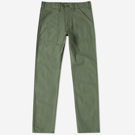 Stan Ray 4-Pocket 1300 Slim Fit Fatigue Pants - Olive Sateen