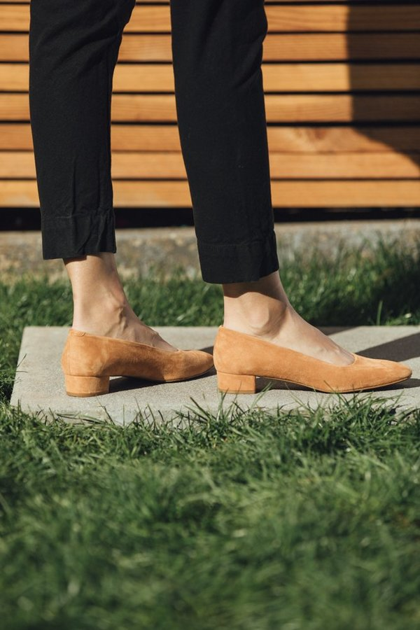 By Far Romy - Nude Suede