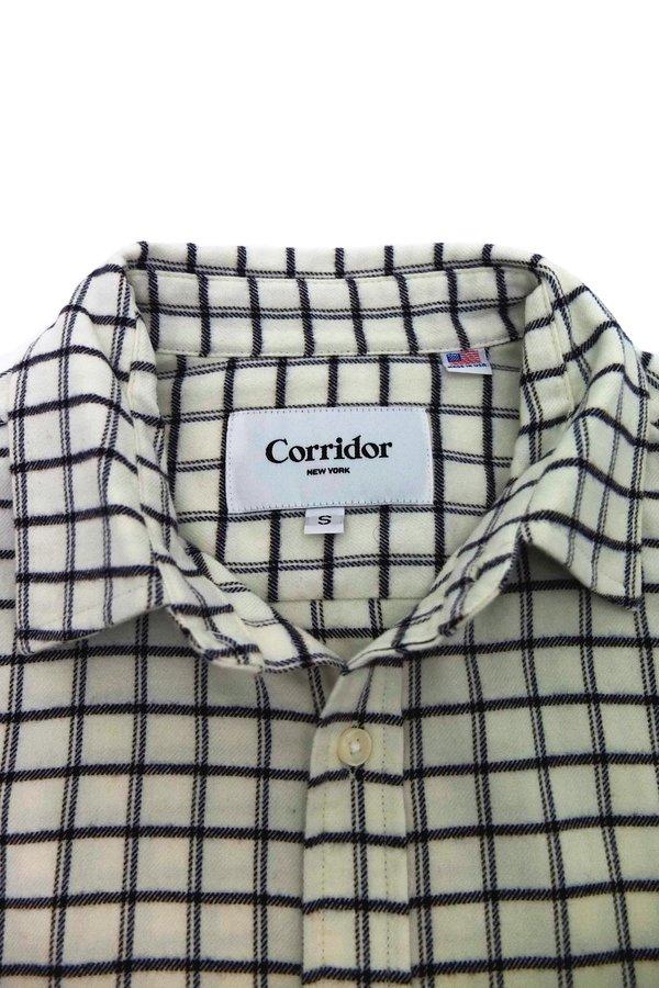 Corridor Check Shirt - White