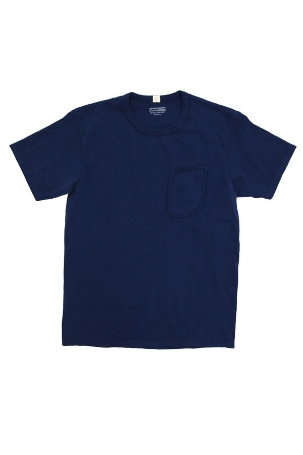 Lady White Co. Clark Pocket Tee - Judd Blue