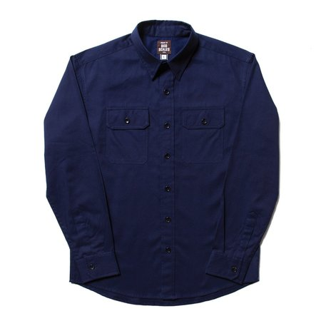 Product Of Bob Scales Work Shirt - Navy Blue