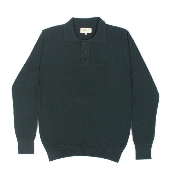 Afield Aaron Long Sleeve Polo