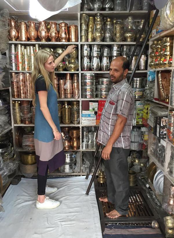 Seek Collective Market Finds - Copper Pitcher