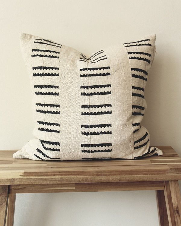 Mae Woven Lines Pillow