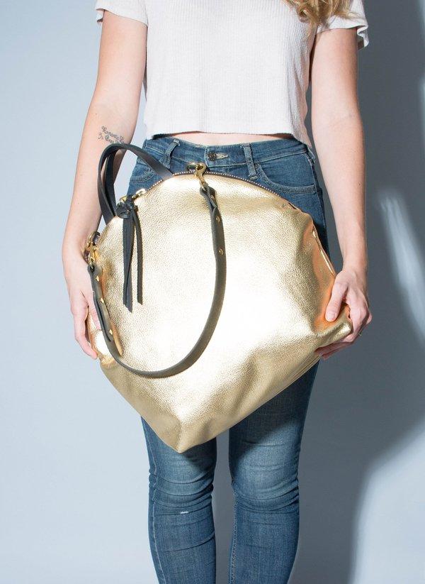 Eleven Thirty Shop Anni Large Shoulder Bag - Gold