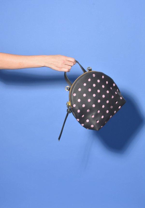 Eleven Thirty Shop Anni Mini Shoulder Bag - Purple Perforated