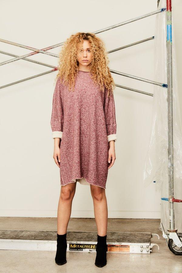 Devlyn Van Loon Curve Sweaterdress - Charcoal Grey