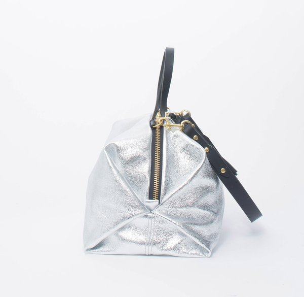 Eleven Thirty Shop Katie XL Shoulder Bag - Silver