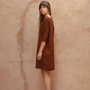 Me and Arrow Dolman Dress - Canyon Brown