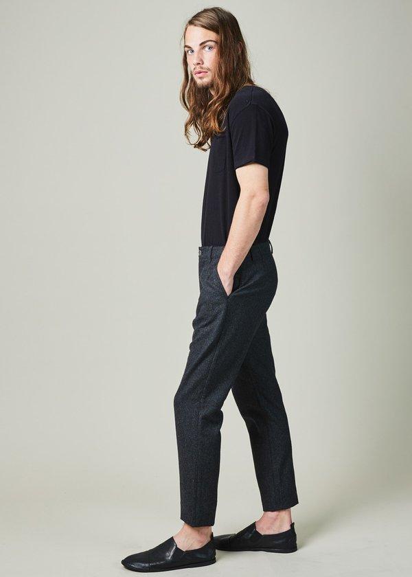 YMC Deja Vu Pinstripe Trouser - Charcoal