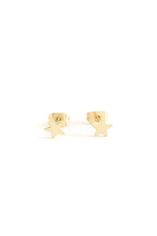 Seoul Little Gold Star Studs - Gold