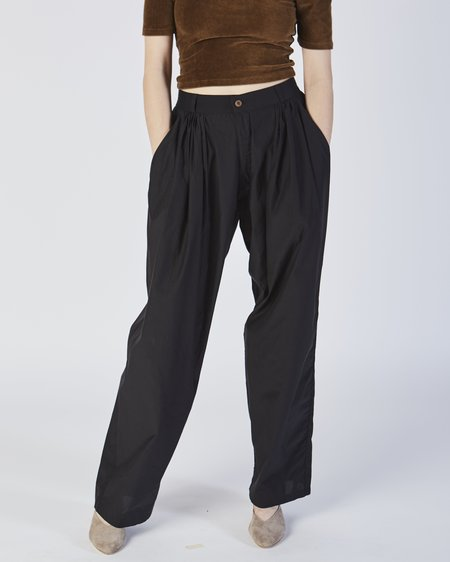 Baserange Saari Pants - BLACK