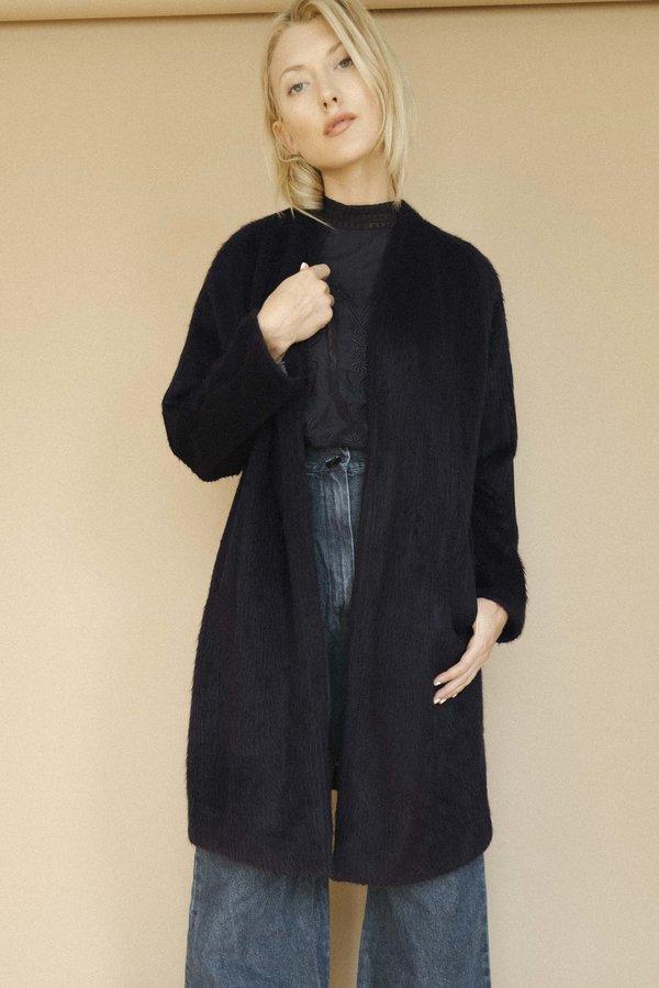 7010c238ade Maria Stanley Verde Sweatercoat - Navy