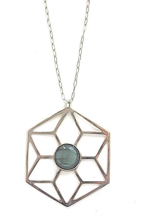 Entropy Sacred Geometry Necklace