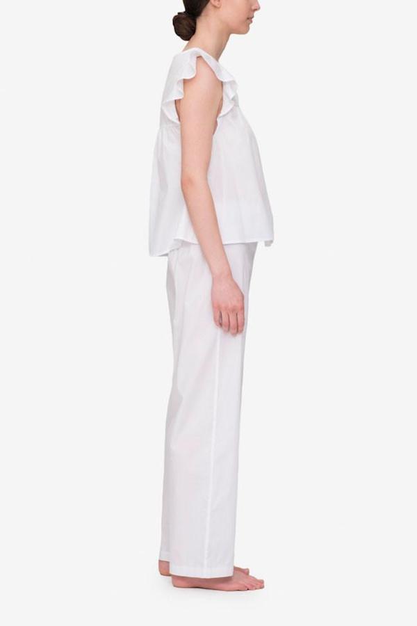 The Sleep Shirt Flounce Top and Lounge Pant Set