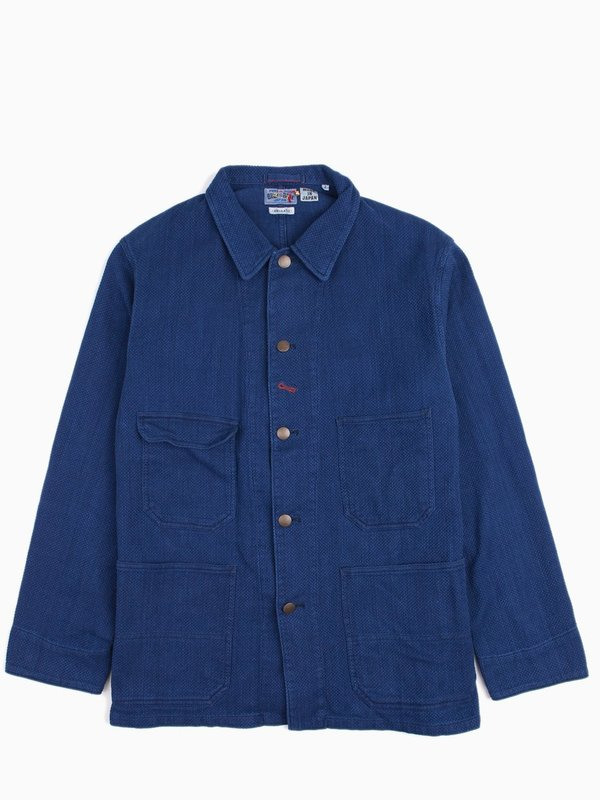 Worker Jacket japanese blue Closed Manchester Online 3MMExrtP