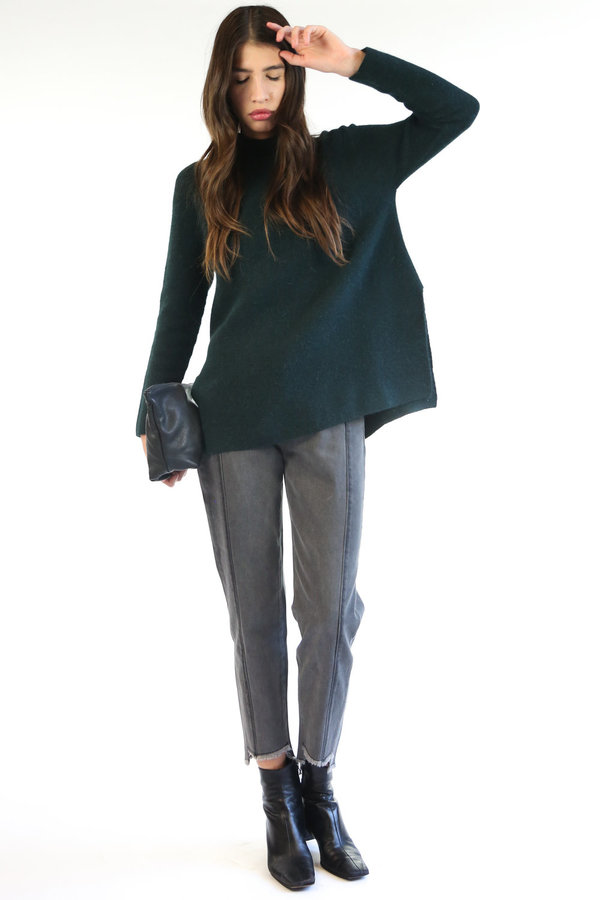 Mijeong Park Whole Garment Pullover - Green