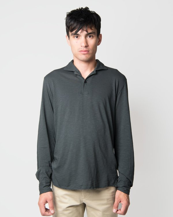 Eidos Long Sleeve Gianni Polo - Jet Black
