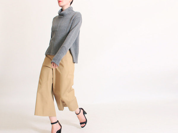 ffiXXed Studios Moving Culottes - KHAKI TAN