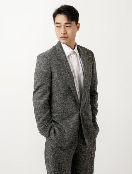 E Tautz Sb1 Jacket Grey Bouclé Check