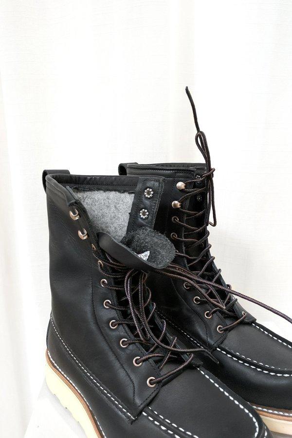 cc6b3f7db10 Red Wing Shoes No. 3424 8-inch Moc - Black