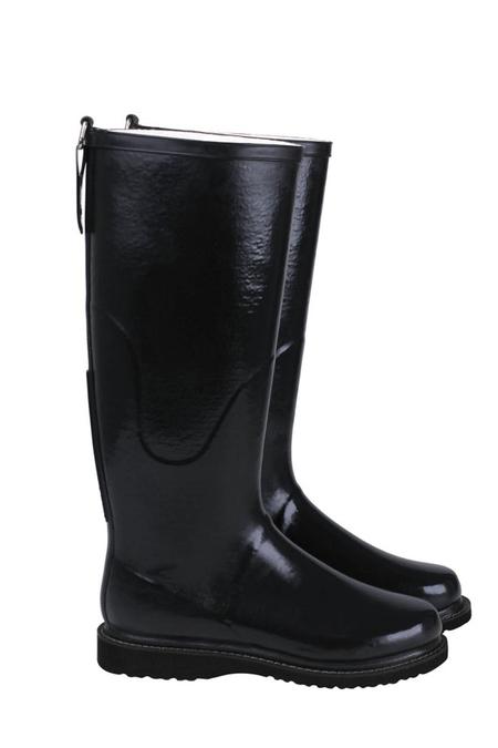 ILSE JACOBSEN Long Rain Boots - Black