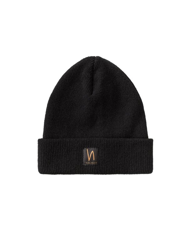 0227debf91e Nudie Liamsson Beanie - Black. sold out. Nudie Jeans
