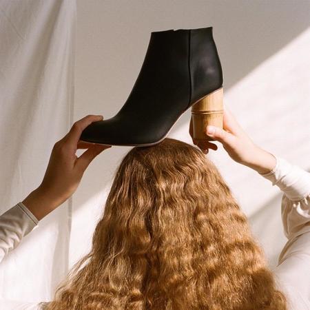 shaina mote ikebana boot - black