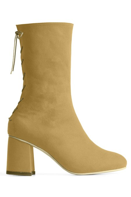 Rafa Convertible Midi Sock Boot – Sahara
