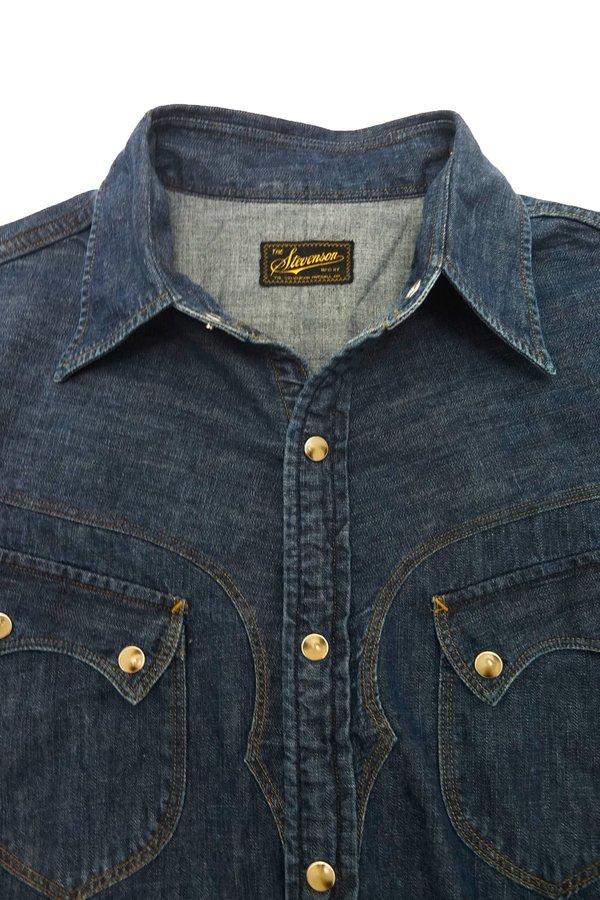 31200045c8 Stevenson Overall Co. Cody Shirt - Faded Indigo