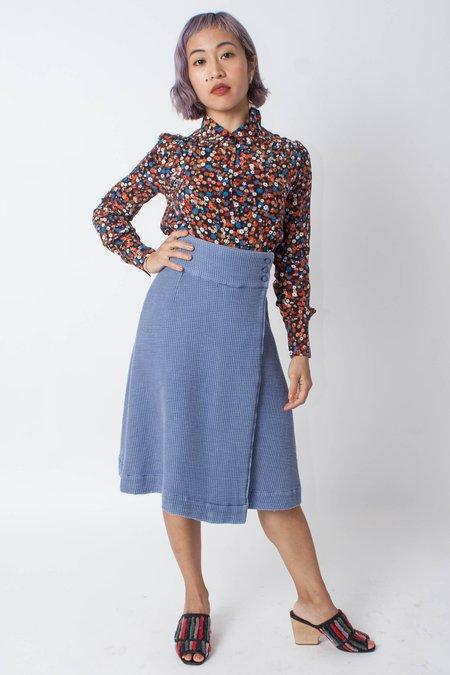 Hannah Kristina Metz Miss Stacy Skirt (Petite) - BLUE